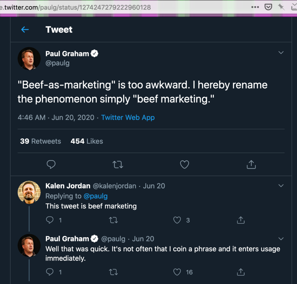 Beef As Marketing: A Winning Strategy (Especially When Combined With Ads To Seed It)