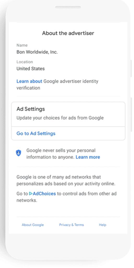 Google Launching Display Ad Disclosure Info