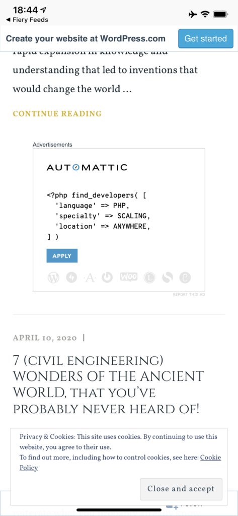 Ad Review: Automattic's Search for PHP Developers