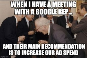PPC meme fun:On what Google Ad Reps really do