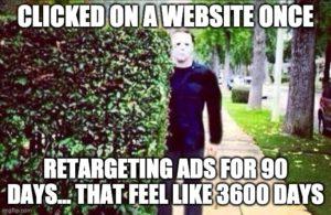 PPC meme fun: on Retargeting Ads