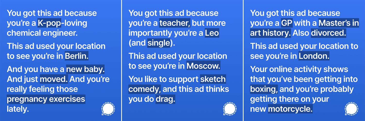 On Facebook's privacy controversy: Was this brutally stalker-y Ad Campaign fairly banned?