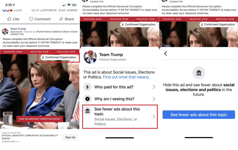 Facebook latest policy updates on Ads about Social Issues, Elections and Politics